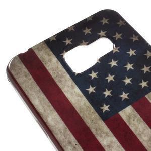 Gélový obal pro Samsung Galaxy A3 (2016) - US vlajka - 4