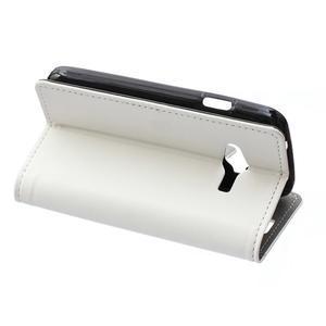 Wall peněženkové pouzdro na Samsung Galaxy Trend 2 Lite - bílé - 4