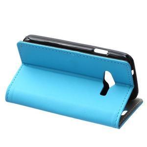 Wall peňaženkové puzdro pre Samsung Galaxy Trend 2 Lite - modré - 4