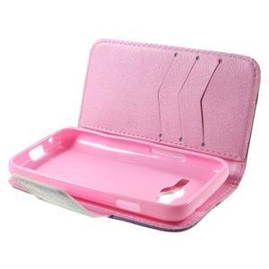 Peňaženkové puzdro pre Samsung Galaxy Trend 2 Lite - vtáčiky - 4