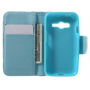 Motive pouzdro na mobil Samsung Galaxy Trend 2 Lite - modrý motýl - 4
