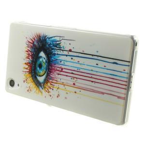 Emotive gélový obal pre Sony Xperia Z2 - farebné oko - 4