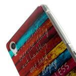 Emotive gélový obal pre Sony Xperia Z2 - farby dreva - 4/6