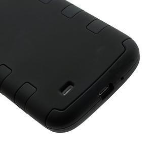 Extreme odolný gélový obal 2v1 pre Samsung Galaxy S4 - čierný - 4