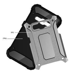 Armory odolný obal pre mobil Samsung Galaxy J1 (2016) - šedý - 4
