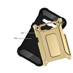 Armory odolný obal pre mobil Samsung Galaxy J1 (2016) - zlatý - 4