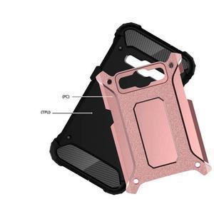 Armory odolný obal pre mobil Samsung Galaxy J1 (2016) - ružovozlatý - 4