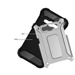 Armory odolný obal pre mobil Samsung Galaxy J1 (2016) - strieborny - 4