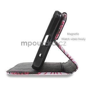 Štýlové puzdro na mobil Huawei Ascend Y550 - kúzelné motýle - 4