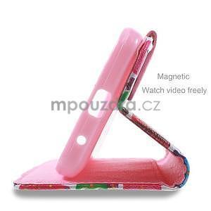 Štýlové puzdro na mobil Huawei Ascend Y550 - sovičky - 4