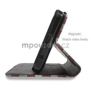 Štýlové puzdro na mobil Huawei Ascend Y550 - US vlajka - 4