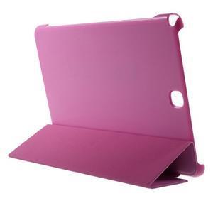 Trifold polohovatelné puzdro pre Samsung Galaxy Tab A 9.7 - rose - 4