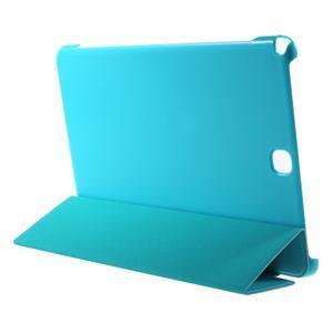 Trifold polohovatelné puzdro pre Samsung Galaxy Tab A 9.7 - svetlo modré - 4
