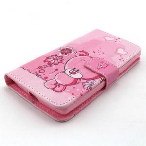 Peneženkové puzdro na mobil LG G4c - medvídek - 4