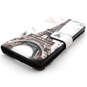 Peneženkové puzdro na mobil LG G4c - Eiffelova veža - 4