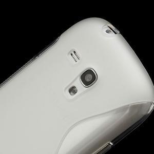 Transparentní gélové puzdro pre Samsung Galaxy S3 mini /i8190 - 4