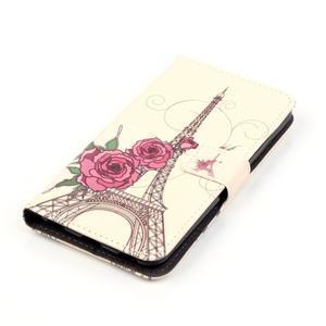 Emotive PU kožené pouzdro na mobil Honor 7 Lite - Eiffelova věž - 4