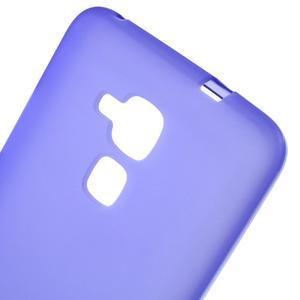 Matný gelový obal na mobil Honor 7 Lite - fialový - 4