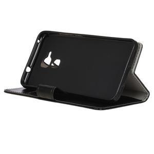 Horse PU kožené pouzdro na mobil Honor 7 Lite - černé - 4