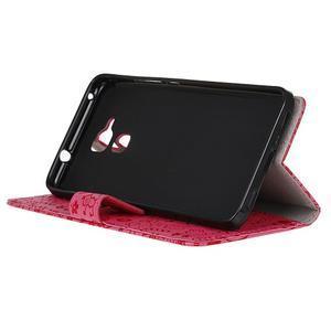 Cartoo pouzdro na mobil Honor 7 Lite - rose - 4