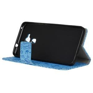 Cartoo pouzdro na mobil Honor 7 Lite - modré - 4