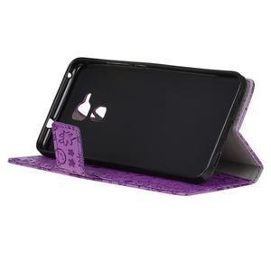 Cartoo pouzdro na mobil Honor 7 Lite - fialové - 4