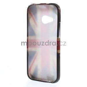 Gélový kryt pre HTC One mini 2 - UK vlajka - 4