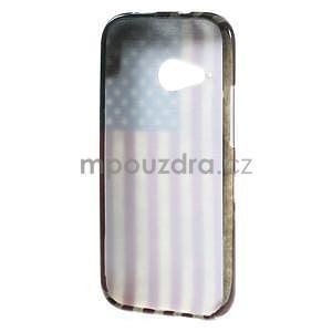 Gélový kryt pre HTC One mini 2 - US vlajka - 4