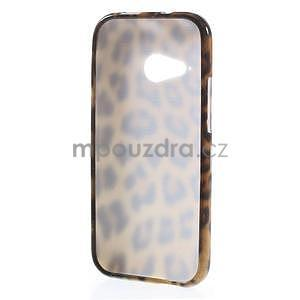 Gélový kryt na HTC One mini 2 - leopard - 4