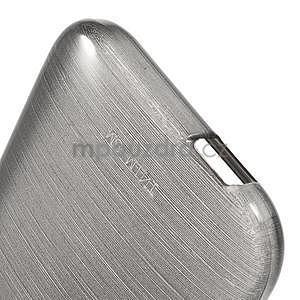 Broušený gélový obal na HTC One mini 2 - čierny - 4
