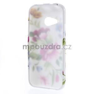 Gélový kryt na HTC One mini 2 - květiny - 4
