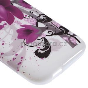 Gélový kryt pre HTC One mini 2 - lotusový kvet - 4