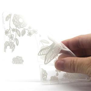 Transparentní gelový obal na Huawei Ascend P8 Lite - ptáček - 4