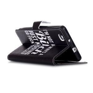 Puzdro na mobil Huawei P8 Lite - bitch - 4
