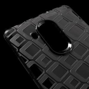 Square gelový obal na Huawei Mate 8 - šedý - 4