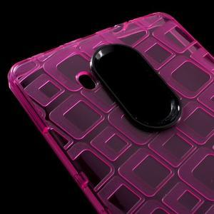 Square gelový obal na Huawei Mate 8 - rose - 4