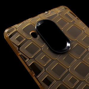 Square gelový obal na Huawei Mate 8 - zlatý - 4