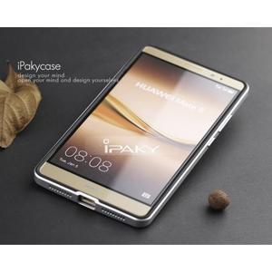 Odolný obal 2v1 s výstuhami na Huawei Mate 8 - stříbrný - 4