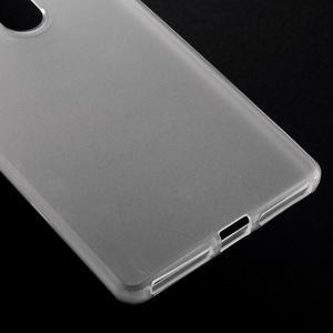 Matný gelový obal na Huawei Mate 8 - transparentní - 4