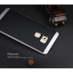 Odolný hybridní obal 2v1 na Huawei Mate S - stříbrný - 4
