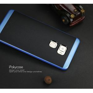 Odolný hybridní obal 2v1 na Huawei Mate S - modrý - 4