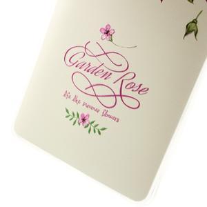Softy gelový obal na mobil Huawei Mate S - růže - 4