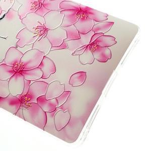 Softy gelový obal na mobil Huawei Mate S - kvetoucí švestka - 4
