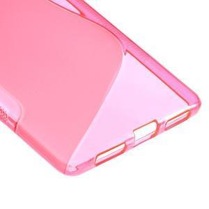 S-line gelový obal na mobil Huawei Mate S - rose - 4