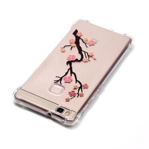 Lacqe geový obal na Huawei P9 Lite - kvetoucí větev - 4