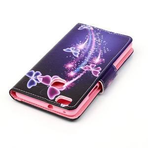 Patter PU kožené pouzdro na mobil Huawei P9 Lite - kouzlení motýlci - 4