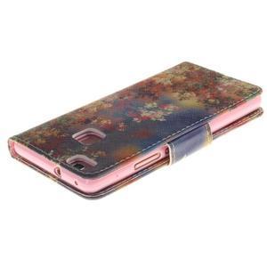 Lethy knížkové pouzdro na telefon Huawei P9 Lite - podzimní zátiší - 4