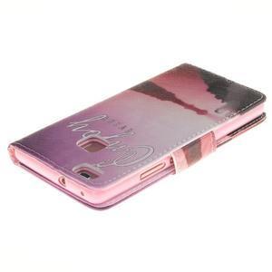 Lethy knížkové pouzdro na telefon Huawei P9 Lite - užívej si - 4