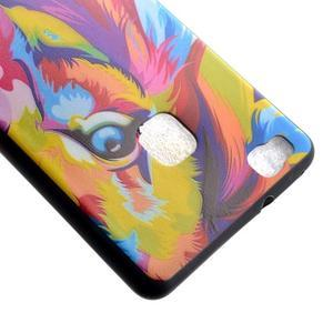 Gelový obal na telefon Huawei P9 Lite - lev - 4