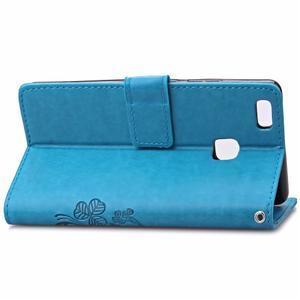 Cloverleaf peněženkové pouzdro na Huawei P9 Lite - modré - 4